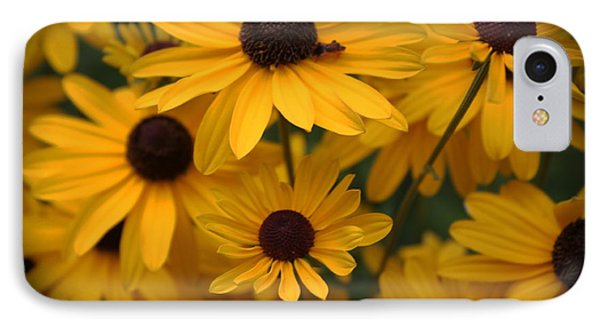 Yellow Coneflowers 2 IPhone Case by Erica Hanel