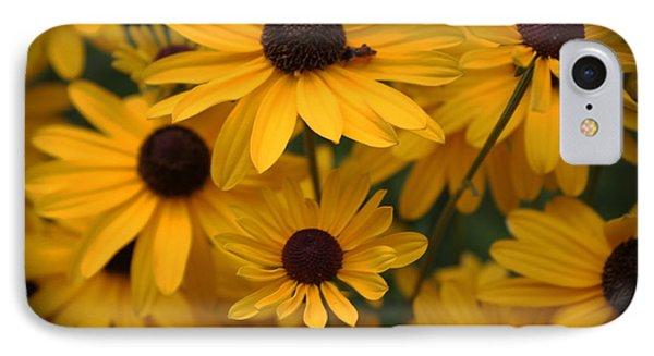 Yellow Coneflowers 2 IPhone Case