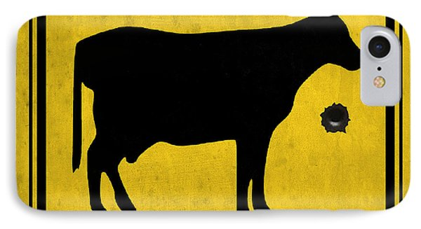 Yellow Cow IPhone Case