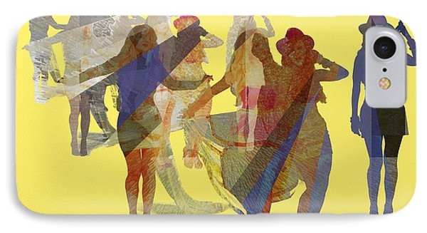 Yellow Dance IPhone Case