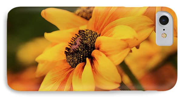IPhone Case featuring the photograph Yellow Dark by Mary Jo Allen