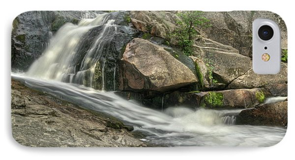 Yellow Dog Falls 4 Phone Case by Michael Peychich