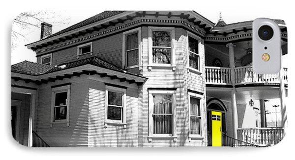 Yellow Door Phone Case by Will Borden