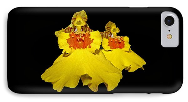 IPhone Case featuring the photograph Yellow Dresses by Judy Vincent