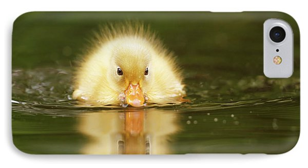 Yellow Ducking -narcissus II IPhone Case