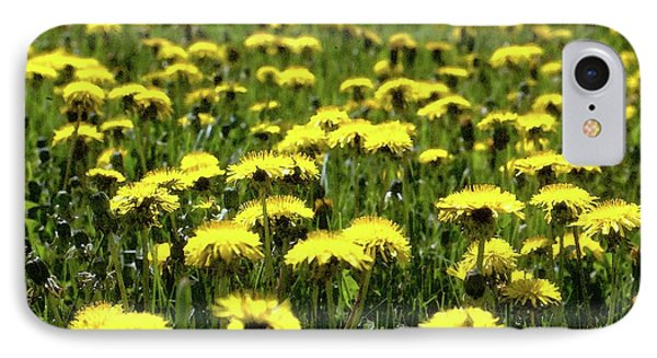 Yellow Field Two  IPhone Case