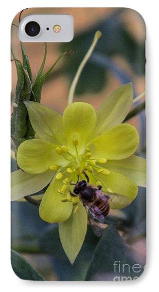 Yellow Flower 5 IPhone Case