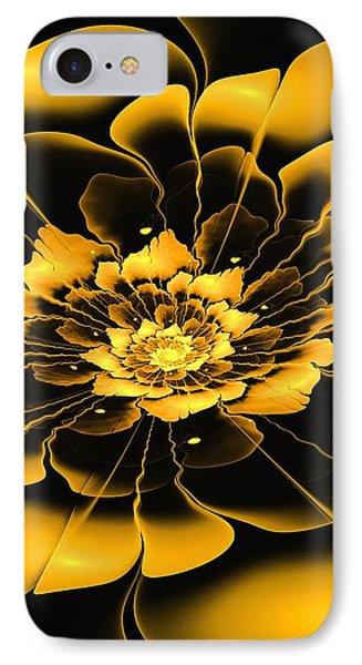 Yellow Flower Phone Case by Anastasiya Malakhova