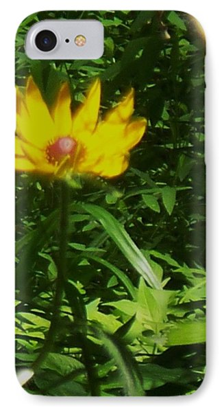Yellow Flower Phone Case by Eric  Schiabor
