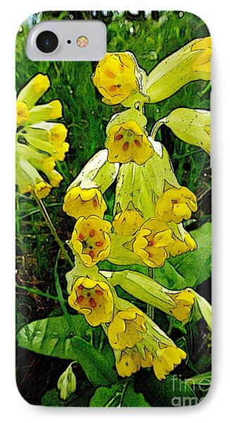 Yellow Flowers 2 Phone Case by Jean Bernard Roussilhe