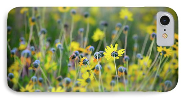 IPhone Case featuring the photograph Yellow Flowers by Kelly Wade