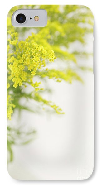 Yellow Froth IPhone Case by Anne Gilbert
