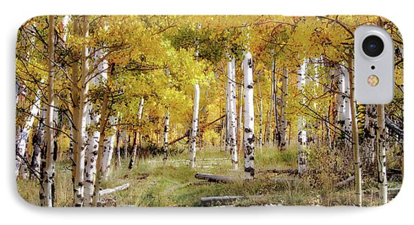 Yellow Heaven IPhone Case by Jim Hill