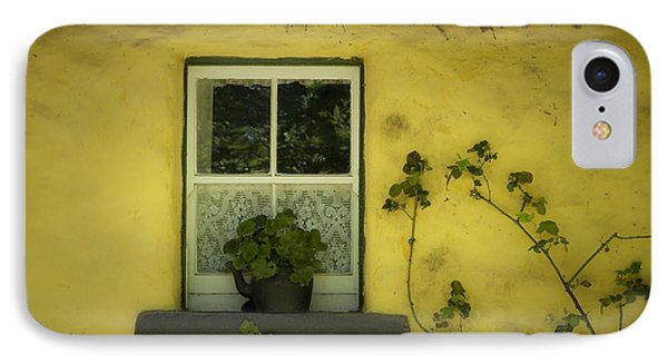 Yellow House County Clare Ireland Phone Case by Teresa Mucha