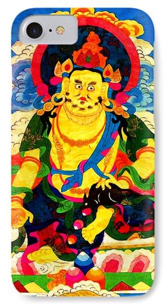Yellow Jambhala 4 Phone Case by Lanjee Chee