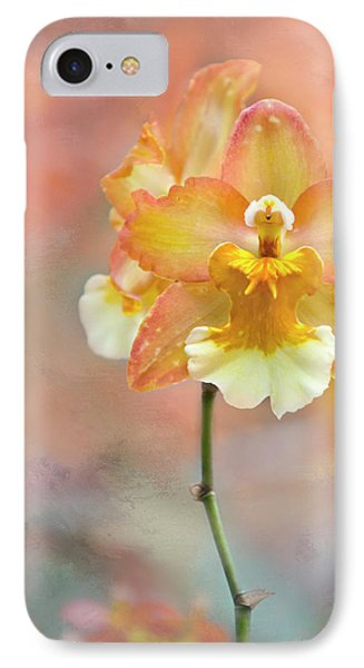 IPhone Case featuring the photograph Yellow Orchid by Ann Bridges