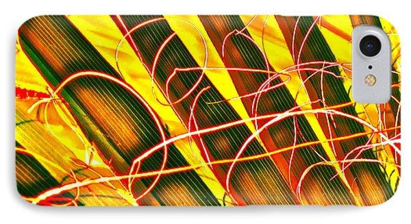 Yellow Palm Fun Phone Case by Gwyn Newcombe