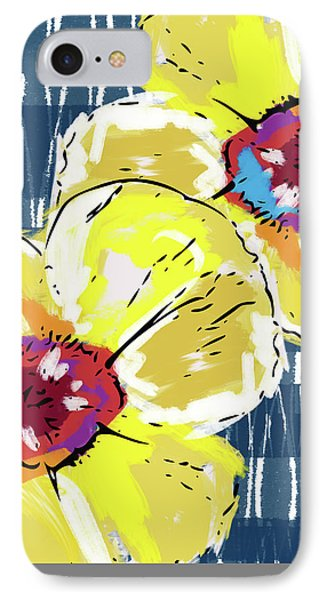 Yellow Poppies 2- Art By Linda Woods IPhone Case by Linda Woods