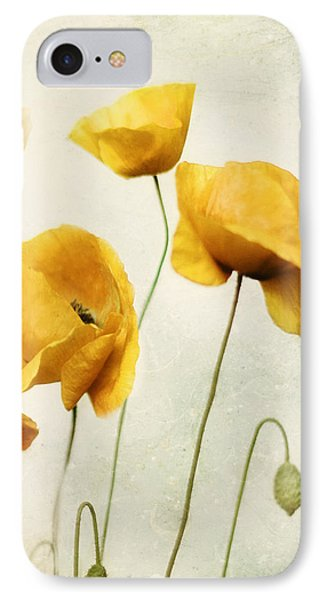 IPhone Case featuring the photograph Yellow Poppies - Square Version by Amy Tyler