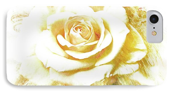 IPhone Case featuring the photograph yellow Rose by Athala Carole Bruckner