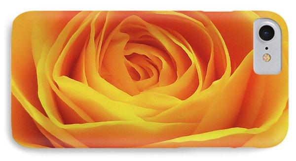 Yellow Rose Macro IPhone Case