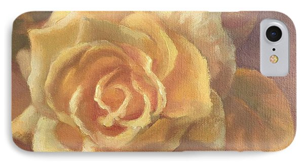 Yellow Rose Phone Case by Sharon Weaver