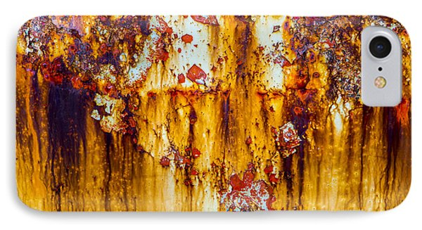 Yellow Rust IPhone Case