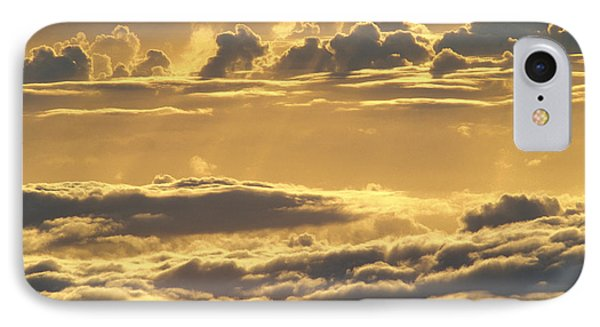 Yellow Sunset Phone Case by Carl Shaneff - Printscapes