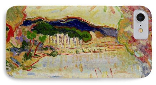 Beynac Et Cazenac , Dordogne , Yellow Sunshine  IPhone Case by Pierre Van Dijk