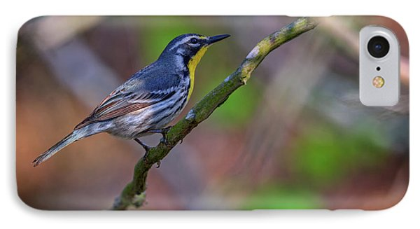 Yellow-throated Warbler IPhone 7 Case by Rick Berk