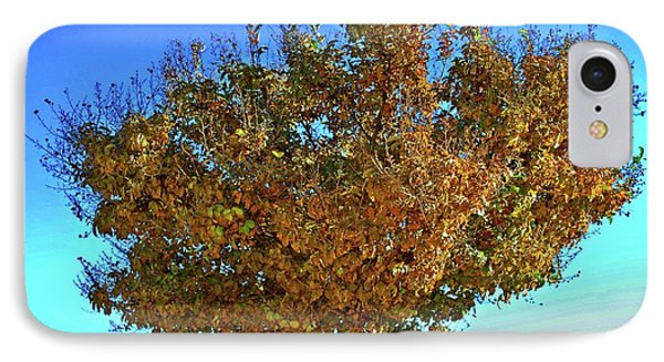 Yellow Tree Blue Sky IPhone Case by Matt Harang