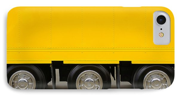 Yellow Truck IPhone 7 Case by Carlos Caetano