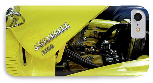Yellow Truck Phone Case by Kristie  Bonnewell