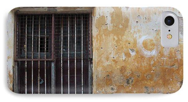 Yellow Wall, Gated Door IPhone Case