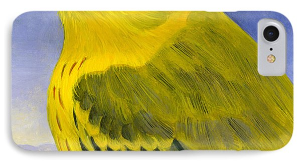Yellow Warbler IPhone 7 Case by Francois Girard
