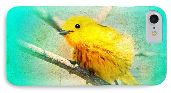 Yellow Warbler IPhone Case by John Wills