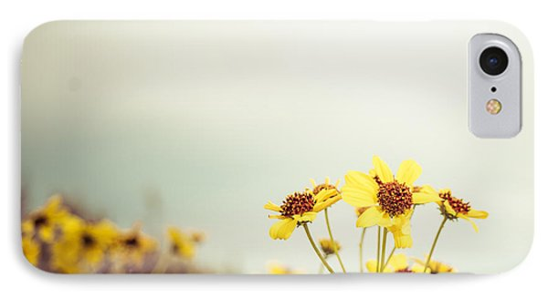 IPhone Case featuring the photograph Yellow Wildflowers by Mary Hone