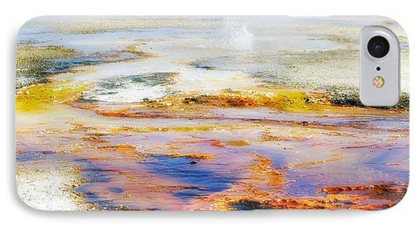 Yellowstone Abstract II Phone Case by Teresa Zieba