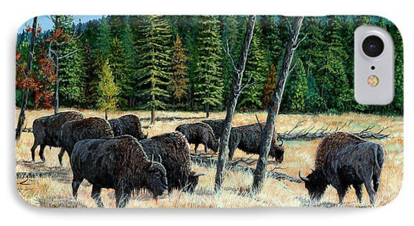 Yellowstone Grazers IPhone Case