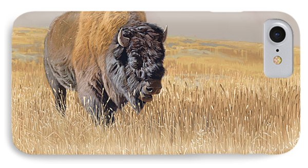 Yellowstone King IPhone Case