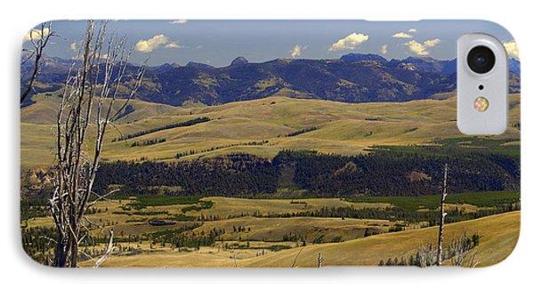 Yellowstone Landscape 2 Phone Case by Marty Koch