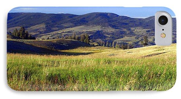 Yellowstone Landscape 3 Phone Case by Marty Koch