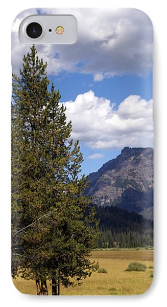 Yellowstone Landscape Phone Case by Marty Koch