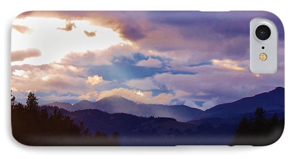 IPhone Case featuring the photograph Yellowstone by Larry Campbell