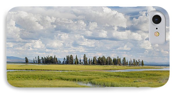 Yellowstone Meadow IPhone Case