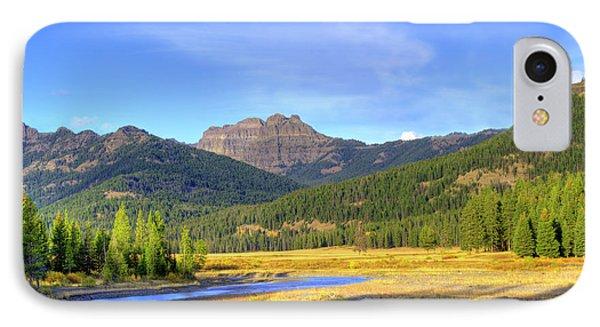Yellowstone National Park Landscape IPhone Case by Juli Scalzi