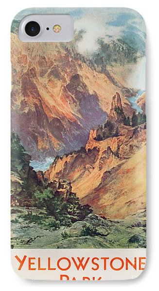 Yellowstone Park IPhone Case by Thomas Moran
