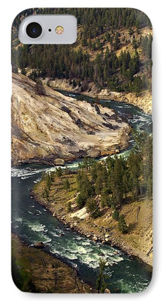 Yellowstone River Canyon Phone Case by Marty Koch