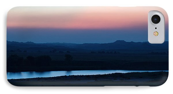 Yellowstone River Evening IPhone Case by Aliceann Carlton