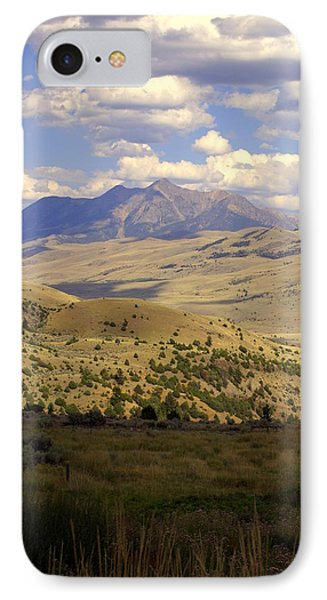 Yellowstone View Phone Case by Marty Koch
